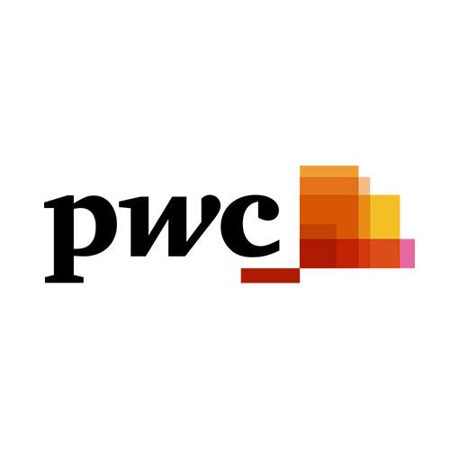 Logo de PWC, cliente de Reporting Standard
